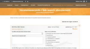 job search abonnement